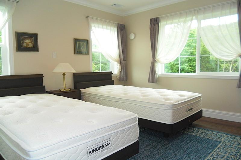 明るく広い各寝室